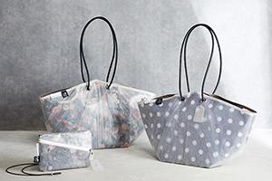 大丸梅田店の新たな取り組み、廃棄傘をバッグにリユース