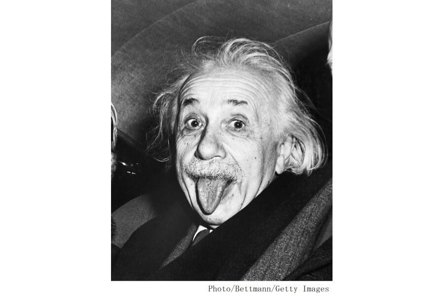 20世紀最高の物理学者と称されるアルバート・アインシュタイン