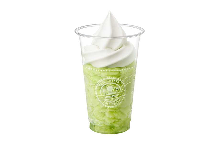 「ハロハロ 果実氷メロン」(375円)