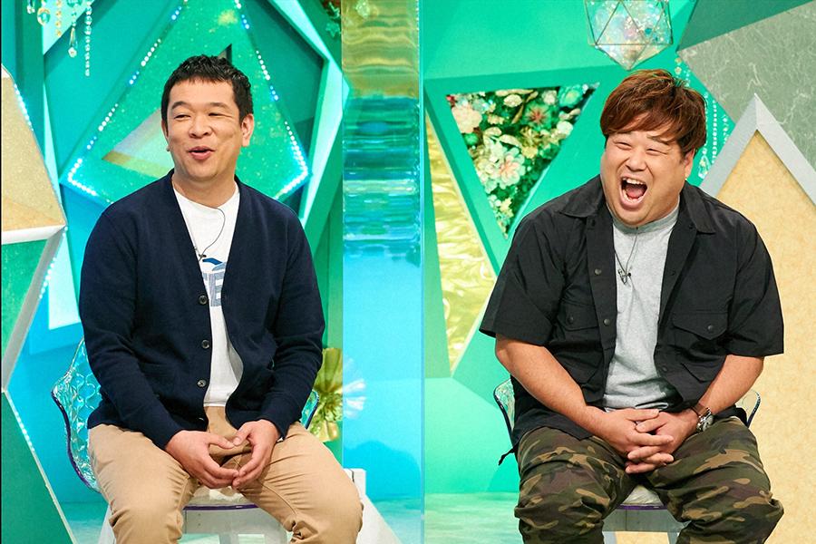 ゲストのお笑いコンビ、プラス・マイナス(C)ABCテレビ