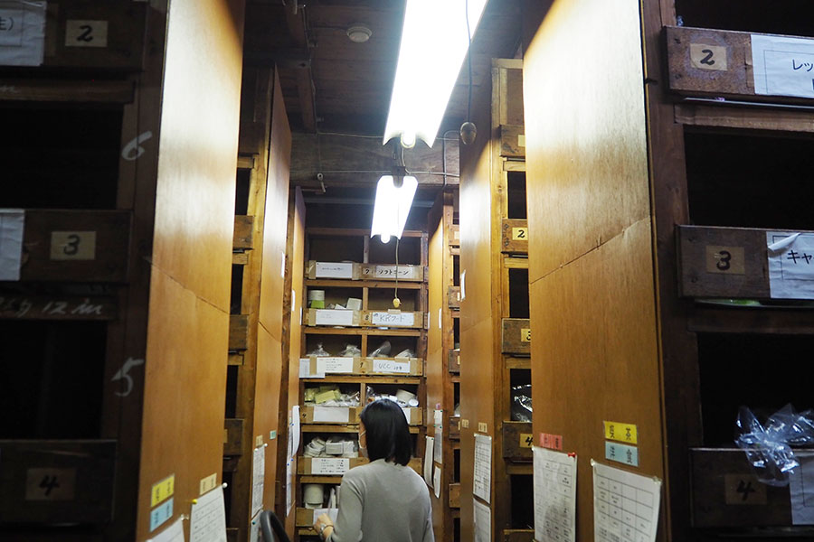 1000以上ある食品&材料パーツ(規格部品)がジャンルごとに、細かく分けられている
