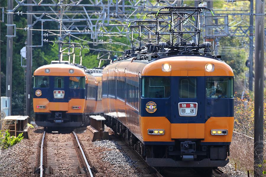 2021年8月のラストラン(予定)をもって引退する近鉄特急「12200系車両」