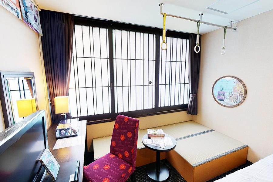 乗り物好きなら悩む、京都のホテルにコラボ部屋が続々