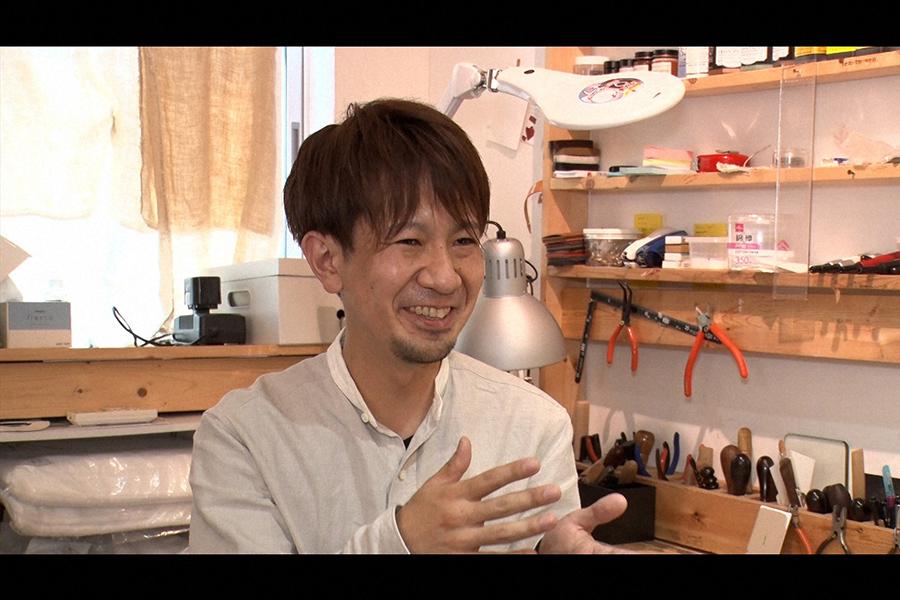 革職人・縄田真悟さん(C)ABCテレビ