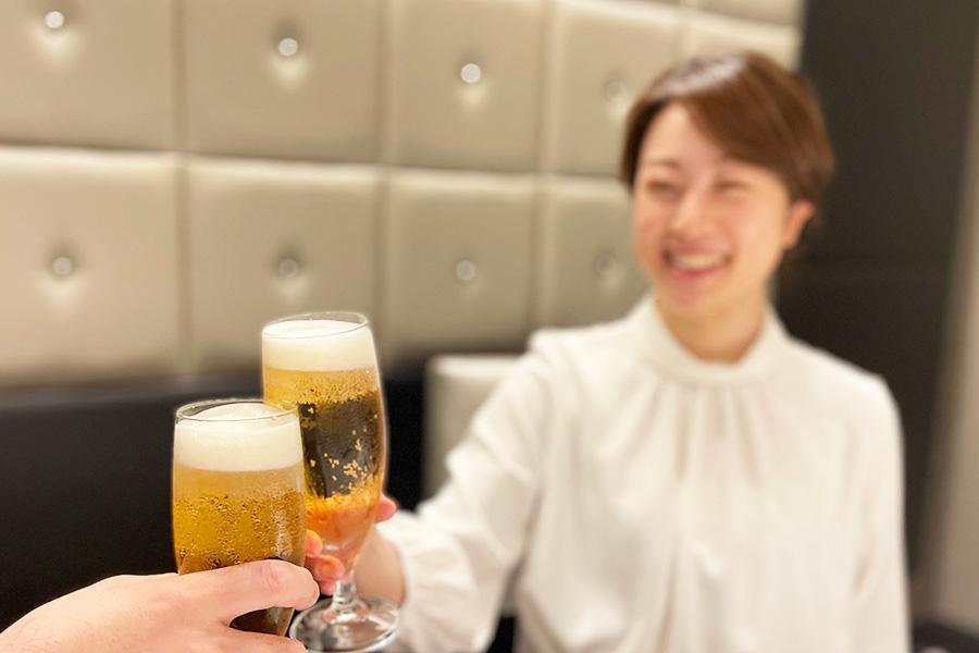ようやく飲める・・・大阪で2名限定の「飲み放題」プラン開始