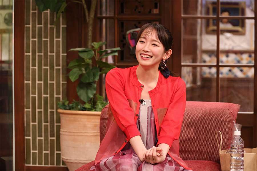 『さんまのまんま初夏SP』に出演の吉岡里帆(c)カンテレ