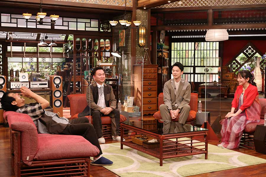 『さんまのまんま初夏SP』に、吉岡里帆とお笑い芸人・かまいたちが出演(c)カンテレ