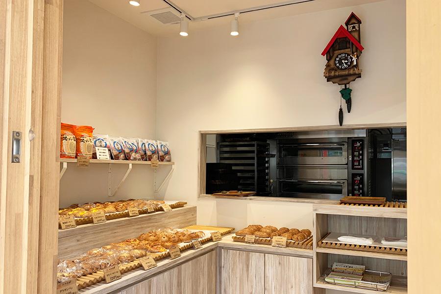 ベースとなるパン生地は1種類だが、中に入れるフィリングなどのバリエーションは豊富