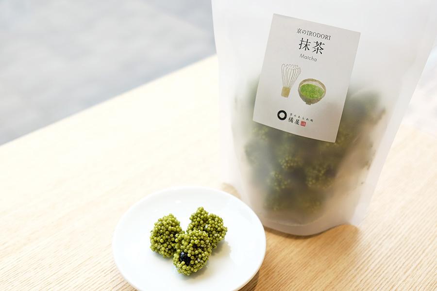 抹茶の甘みの中に苦みがほんのりきいて美味「京のIRODORI・抹茶」(486円)