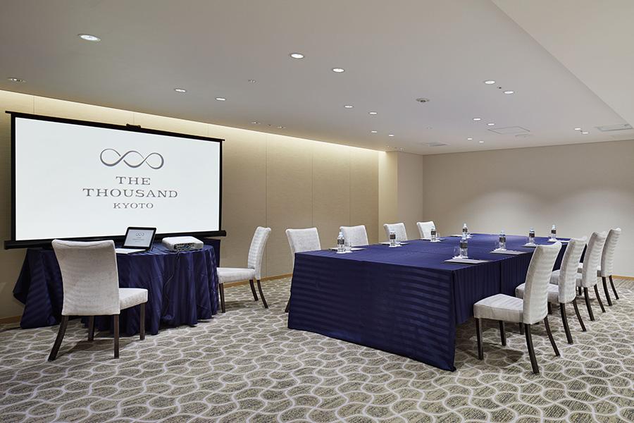 5つの小宴会場を使った定額制会議室のサービスも販売。2021年7月1日~2022年3月31日の間で、月額7万円