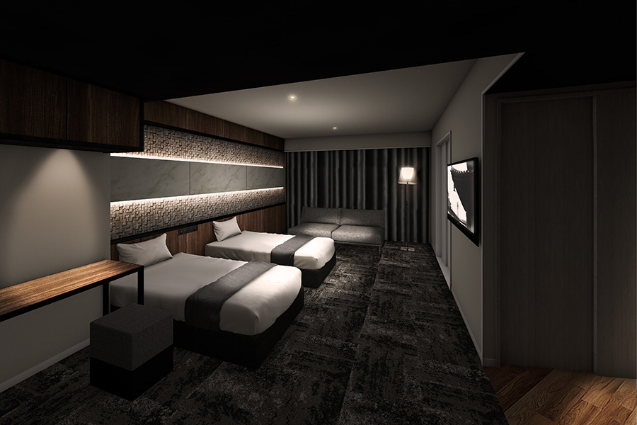 大阪・新今宮に、ラグジュアリー空間目指すホテル開業