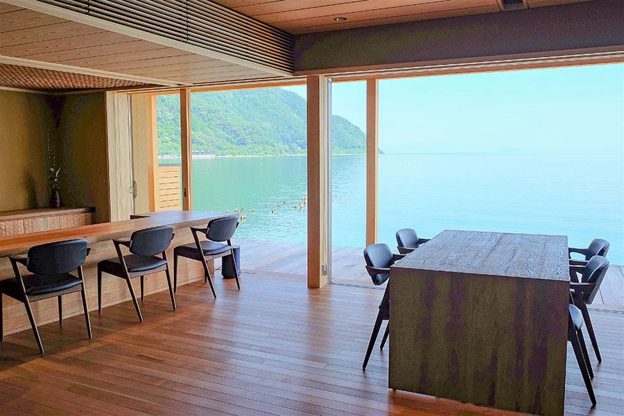琵琶湖の美景が楽しめる、復活した滋賀・高島の老舗料亭