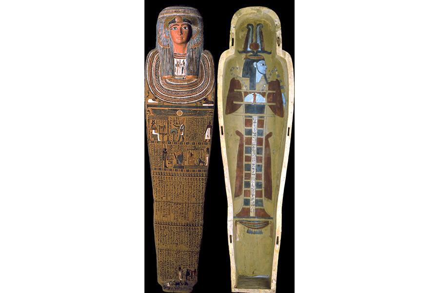 ペンジュの棺 レーマー・ペリツェウス博物館 ROEMER-UND PELIZAEUS-MUSEUM HILDESHEIM