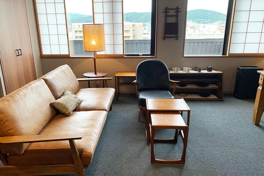 全室スイートのホテルが京都に開業、暮らしの道具に特化