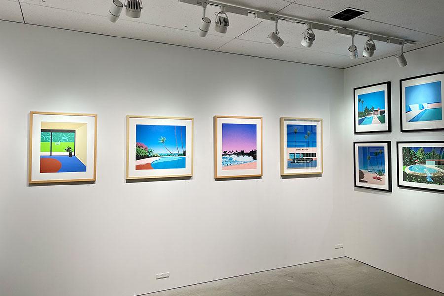 シティポップ再燃で注目の永井博、大阪で5年ぶりに個展