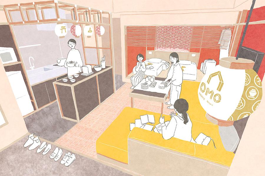 星野リゾートが京都でOMO3施設目、今秋にホテルを祇園で開業