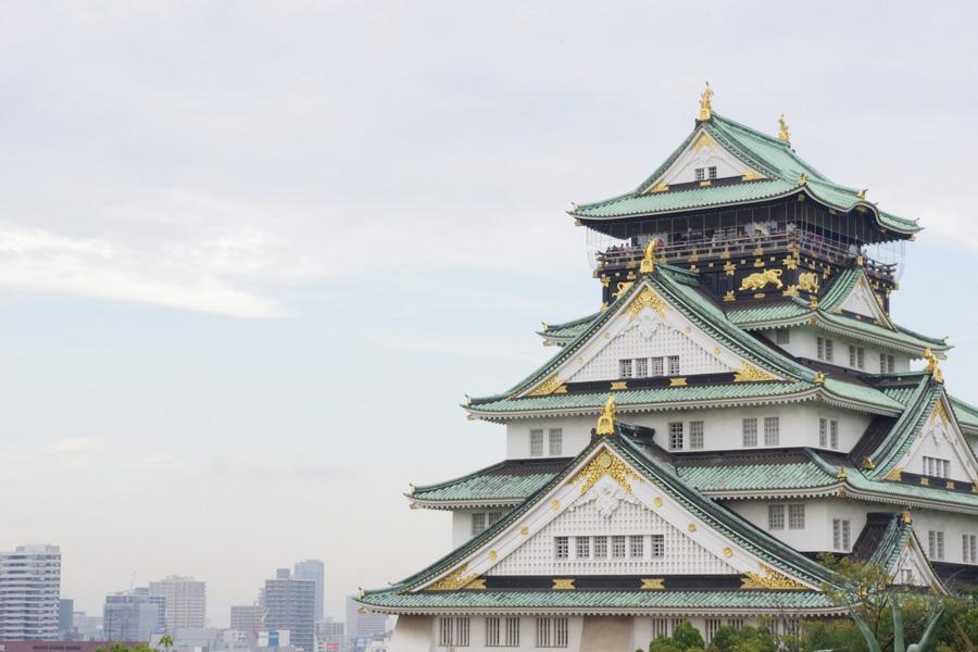 2019年大会以降、大阪城公園が『大阪マラソン』のフィニッシュ地点に(写真は大阪城天守閣)