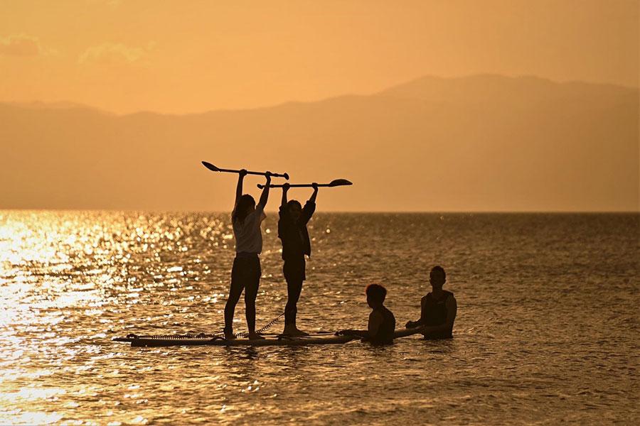 滋賀・琵琶湖の水辺を楽しむ、野外リゾート施設が誕生