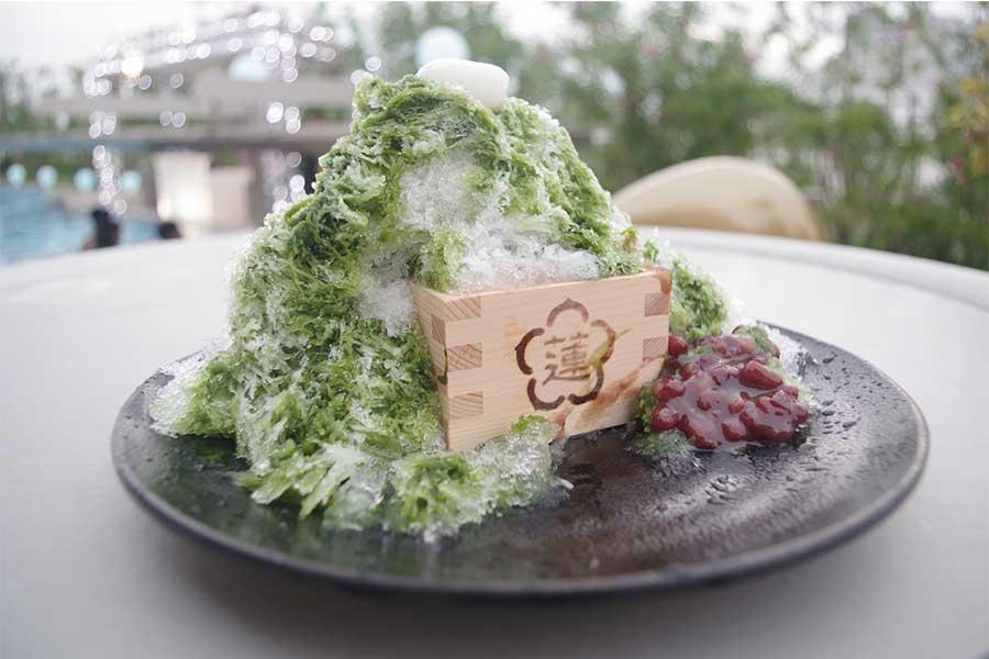 宇治抹茶と北海道あずき(990円)