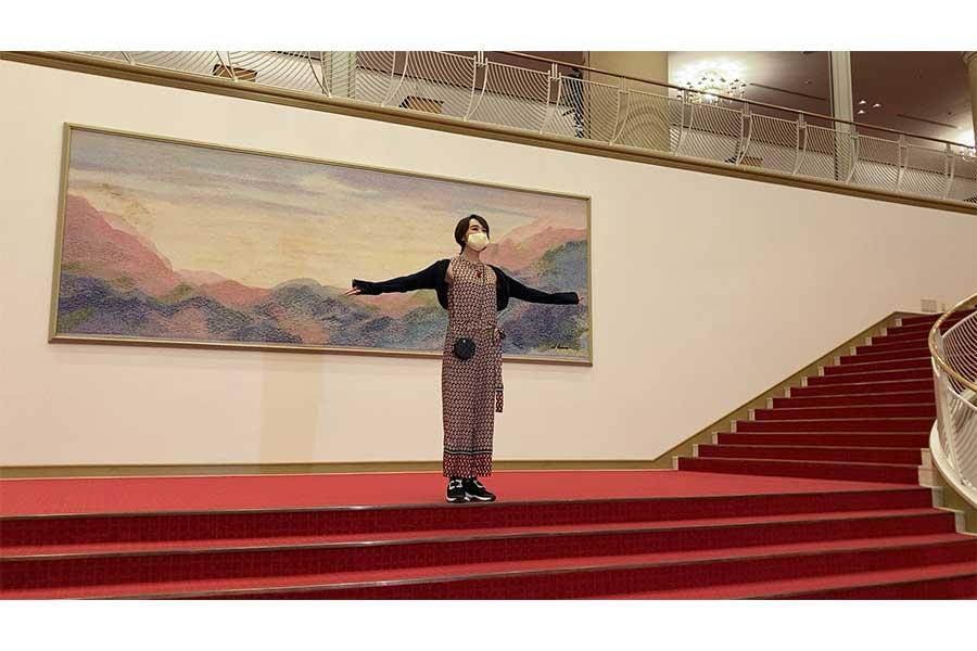 元宝塚歌劇団・紫吹淳(C)ytv