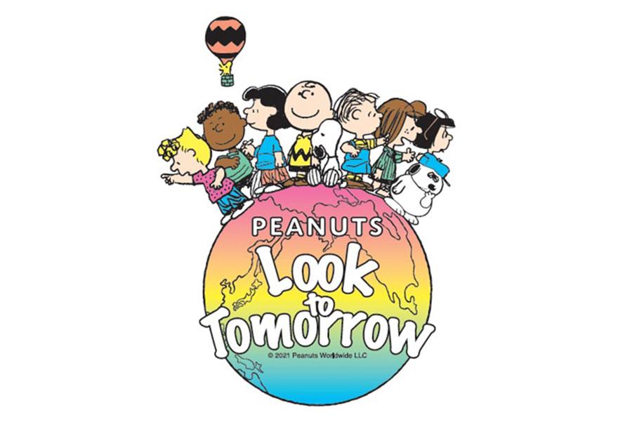 『PEANUTS Look to Tomorrow』のビジュアルイメージ