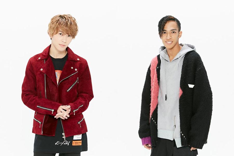 左からAぇ! groupの末澤誠也と草間リチャード敬太