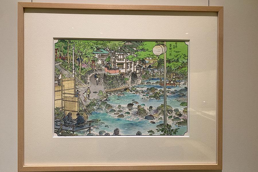 「新京都百景貴船川床」
