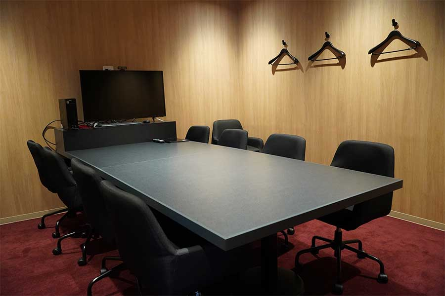 会議室も完備
