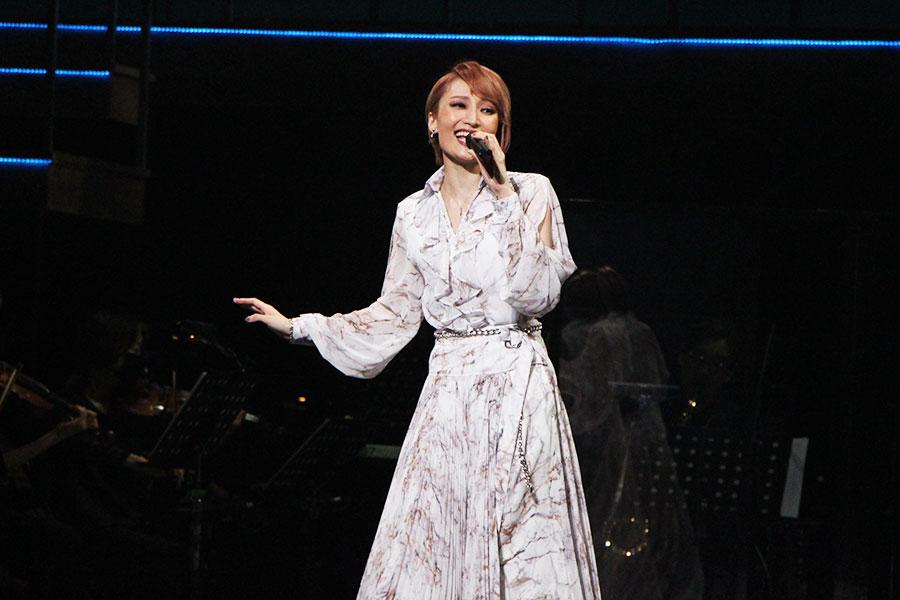 コンサートのタイトルの「SPERO=望む(イタリア語)」の通り、希望の光に満ちた楽曲を披露