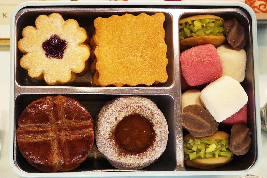 「アトリエうかい」で人気のクッキー缶「フールセック・小缶」