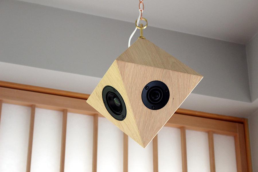 奈良の夫婦ユニット「sonihouse (ソニハウス)」が手掛ける多面体無指向性スピーカー