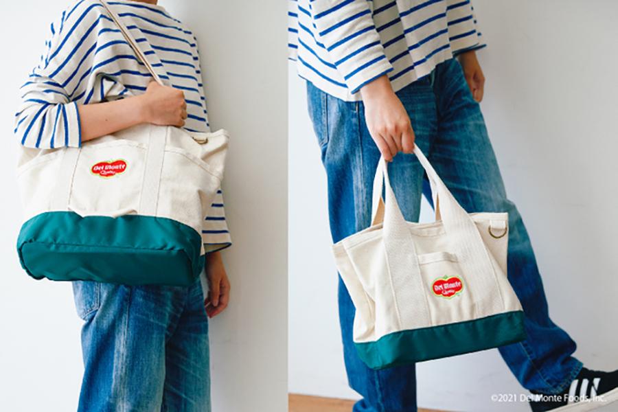 帆布トートバッグ (4180円)/ランチバッグ(3190円)