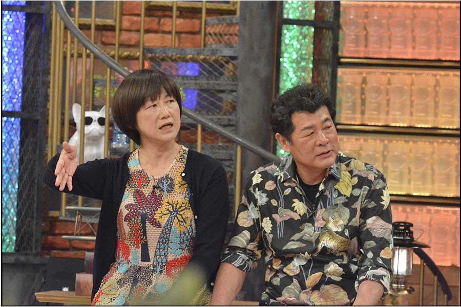 赤井英和(右)と妻の佳子さん(C)ytv