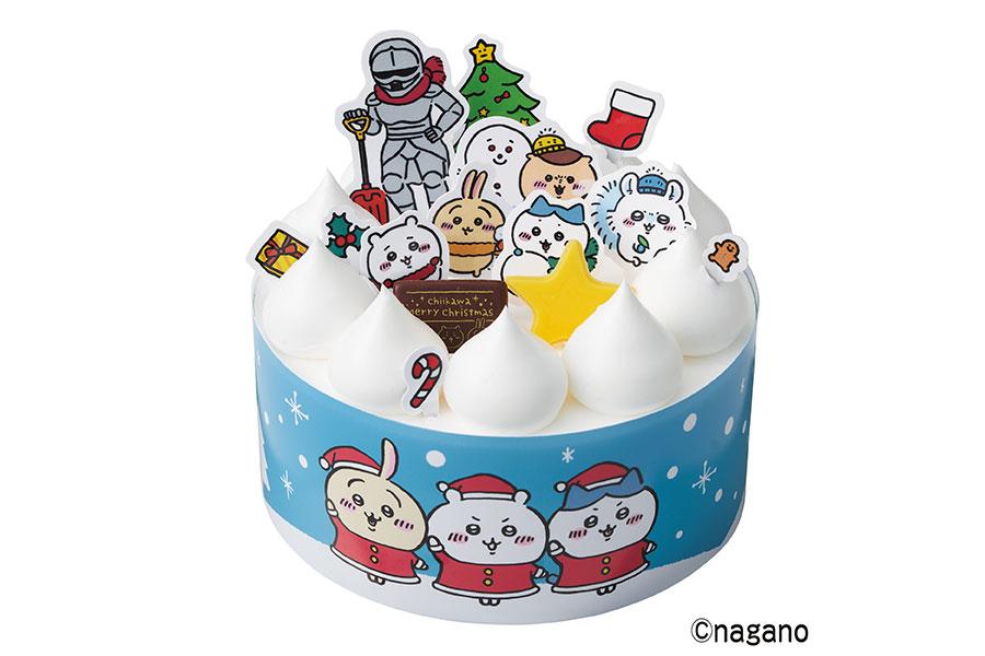 「ちいかわ みんなで雪遊びケーキ」(3990円)