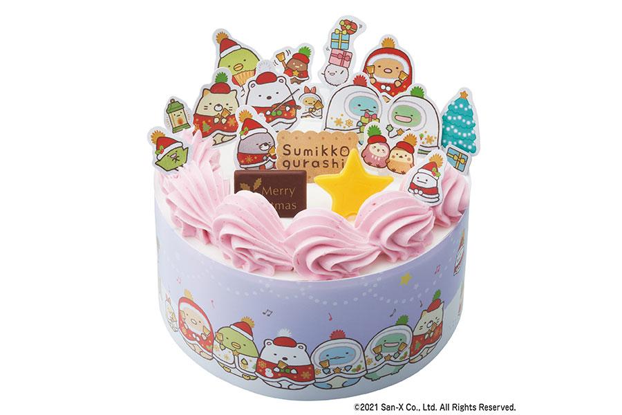 すみっコぐらし かざって楽しいクリスマスケーキ(3990円)