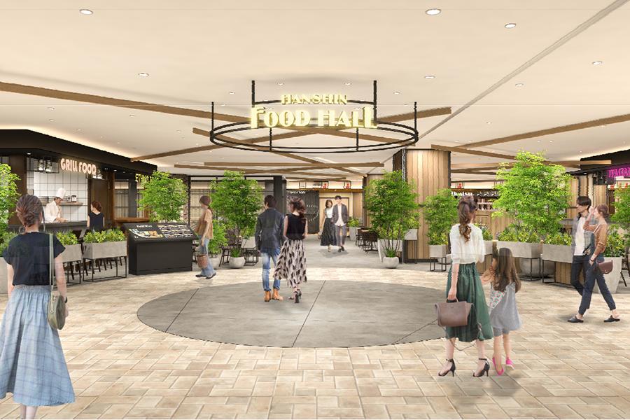 名店が集結するフードホール、「阪神梅田本店」に誕生