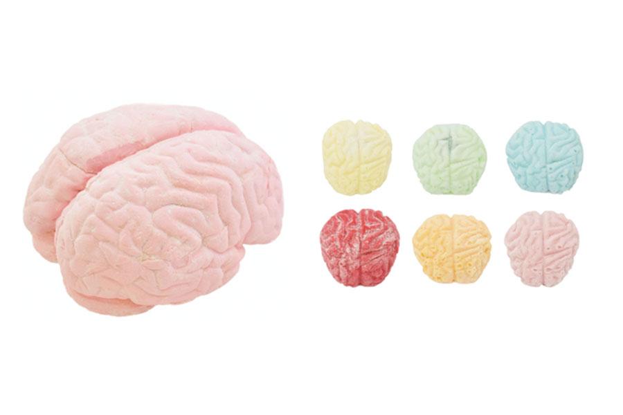 「脳みそマシュマロ」レギュラーサイズ(6480円)ミニサイズ ミント以外(550円)ミント(500円)