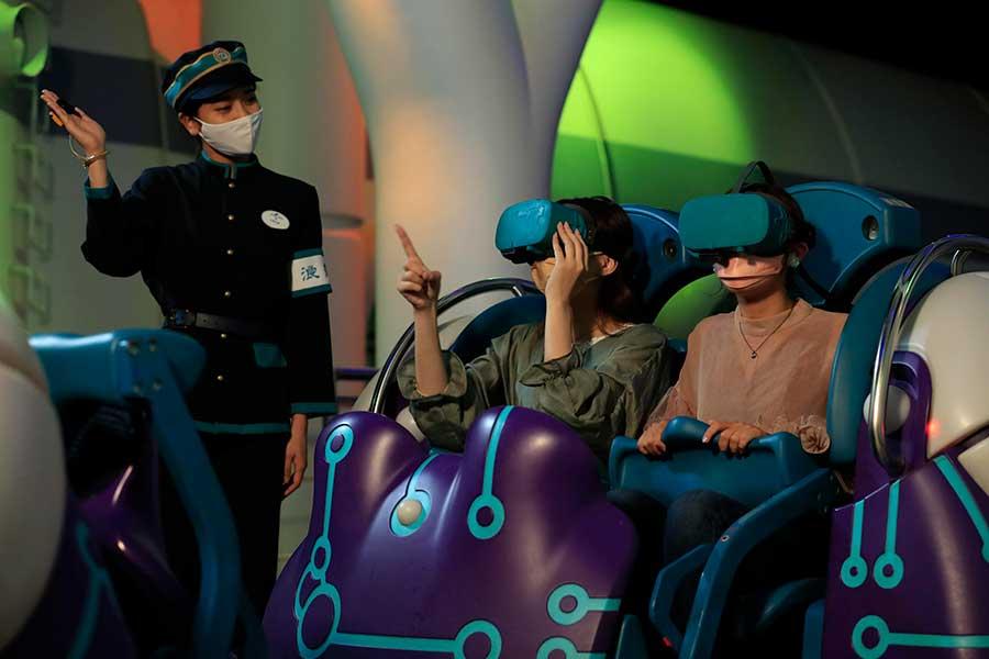 「ユニバーサル・スタジオ・ジャパン」の『鬼滅の刃 XRライド』イメージ