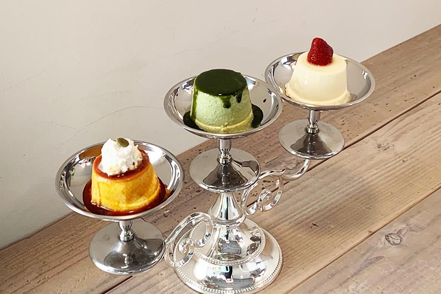 プリン尽くしな喫茶店が神戸に、3つオーダーせずにはいられない!?