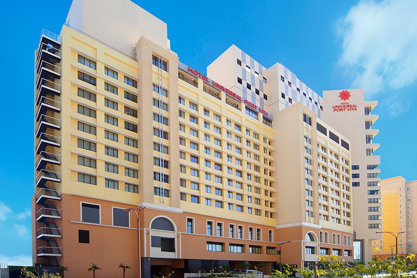 「ユニバーサル・スタジオ・ジャパン」の公式ホテル「ホテル ユニバーサル ポート ヴィータ