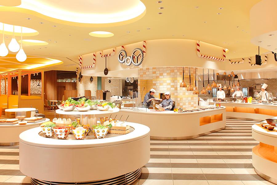 「ホテル ユニバーサル ポート ヴィータ」のレストラン