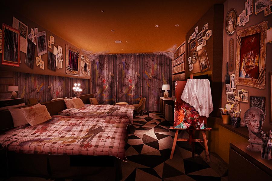 大阪で怖すぎるホラールーム企画「この部屋じゃ寝れない」
