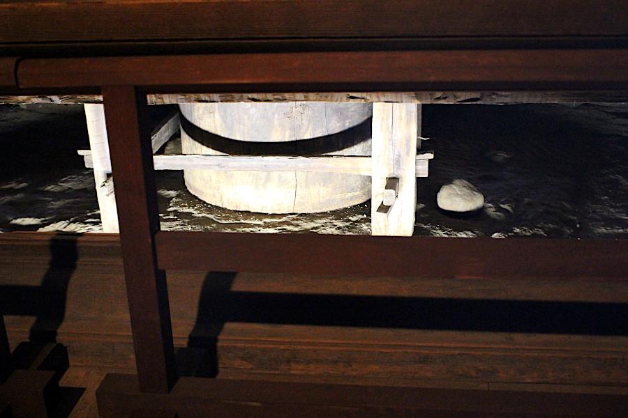 興福寺五重塔の心柱を特別に拝観できる