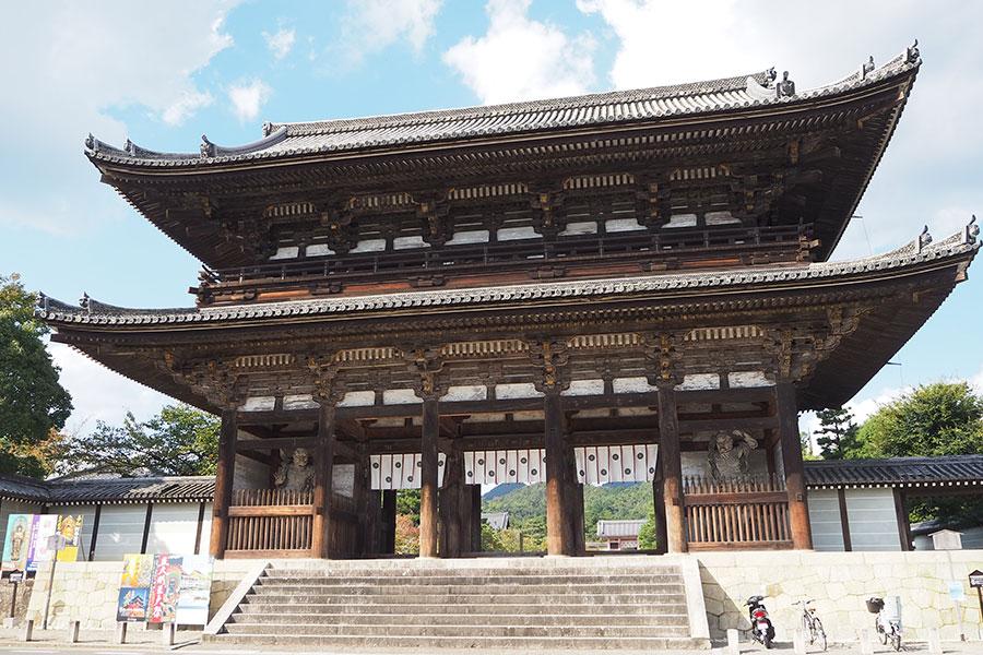 京都3大門のひとつ、二王門